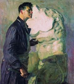 Нестеров М. В. Портрет скульптора И.Д.Шадра