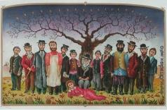 Абезгауз Е. З. Иаков с его 12 сыновьями и дочерью Диной. Семейный фотограф)
