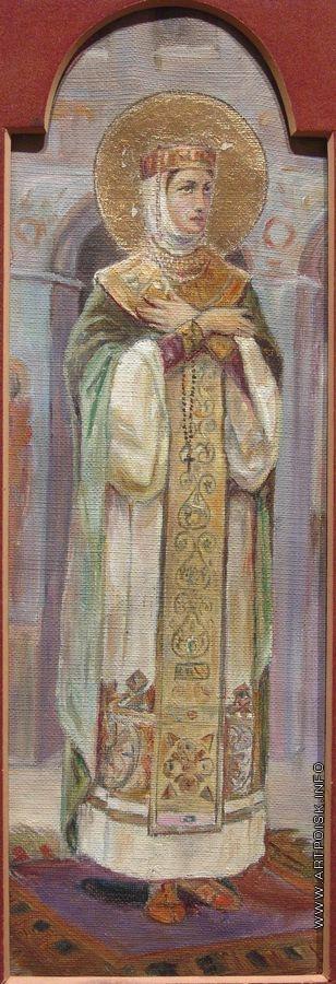 Нестеров М. В. Святая княгиня Евдокия