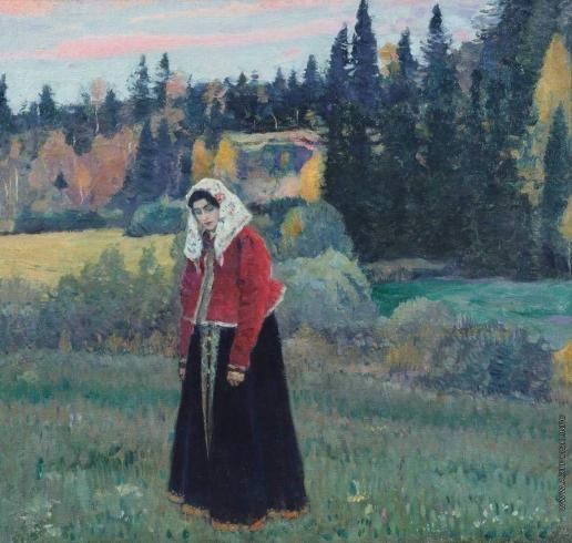 Нестеров М. В. Фленушка