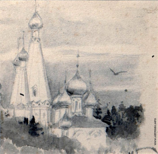 Нестеров М. В. Церковь. 1896-