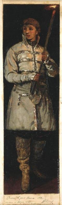 Нестеров М. В. Юноша со свечой