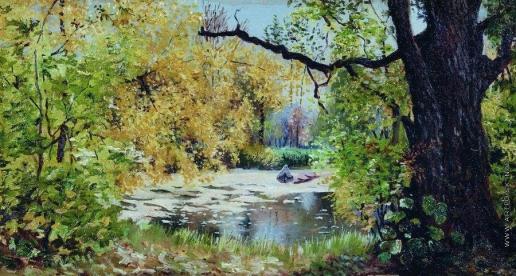Остроухов И. С. Осенний пейзаж