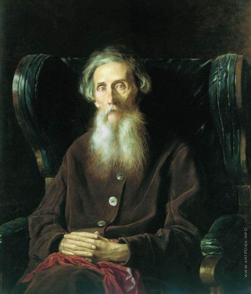 Перов В. Г. Портрет писателя Владимира Ивановича Даля