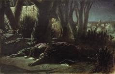 Перов В. Г. Христос в Гефсиманском саду