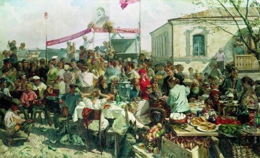 Пластов А. А. Колхозный праздник