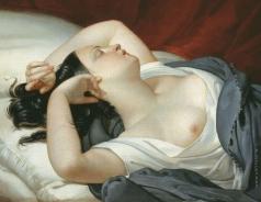 Плюшар Е. А. Спящая итальянка