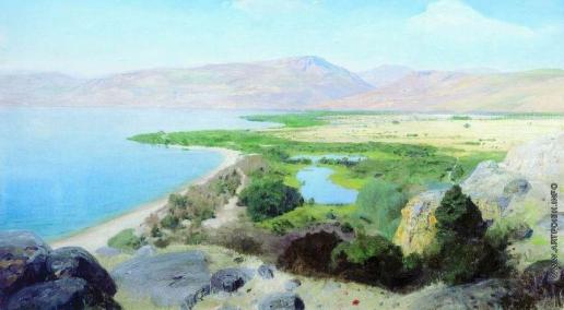Поленов В. Д. Генисаретское озеро