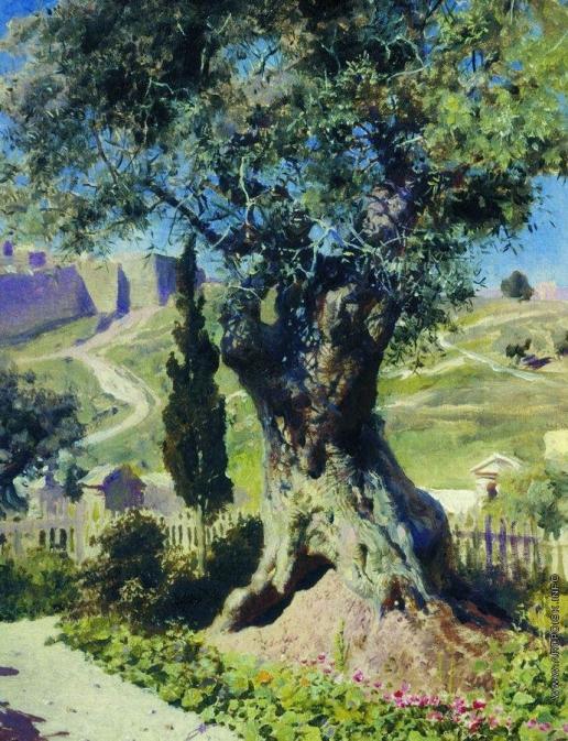 Поленов В. Д. Олива в Гефсиманском саду