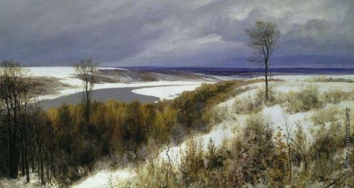 Поленов В. Д. Ранний снег