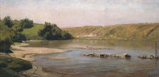 Поленов В. Д. Река Ока