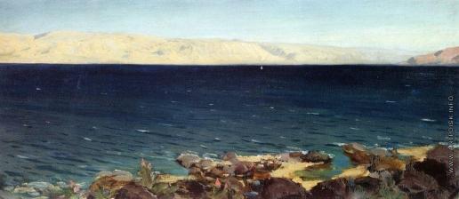 Поленов В. Д. Тивериадское (Генисаретское) озеро. 1882-