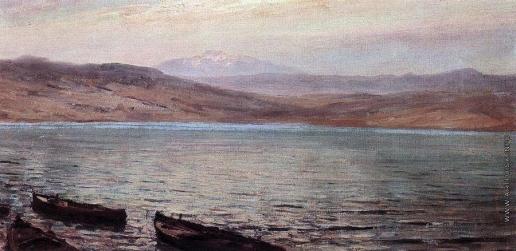 Поленов В. Д. Тивериадское (Генисаретское) озеро. 1881-