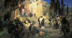 Поленов В. Д. Христос и грешница (Кто без греха?)