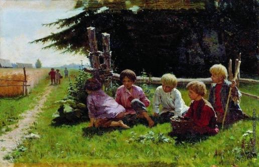 Прянишников И. М. В засаде