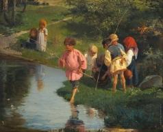 Прянишников И. М. Дети на рыбалке
