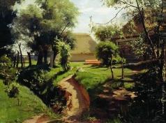 Прянишников И. М. Задворки