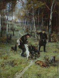 Прянишников И. М. Конец охоты