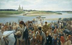 Прянишников И. М. Крестный ход