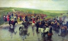 Прянишников И. М. Спасов день на севере