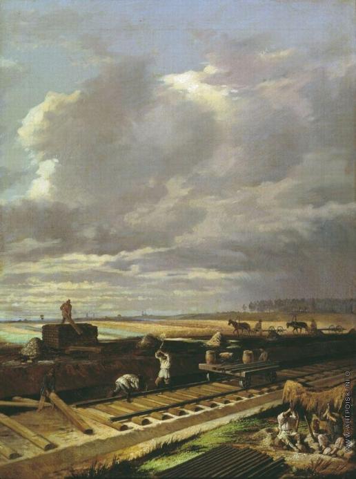 Пукирев В. В. Строительство железной дороги