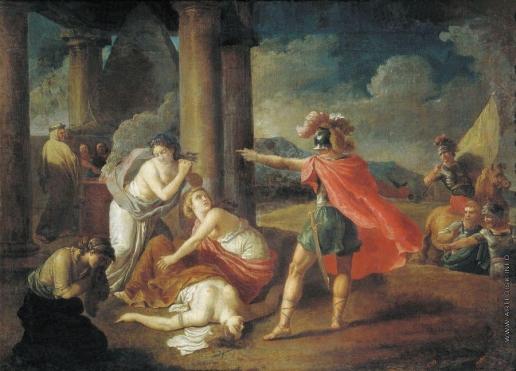 Пучинов М. И. Смерть Камиллы, сестры Горация