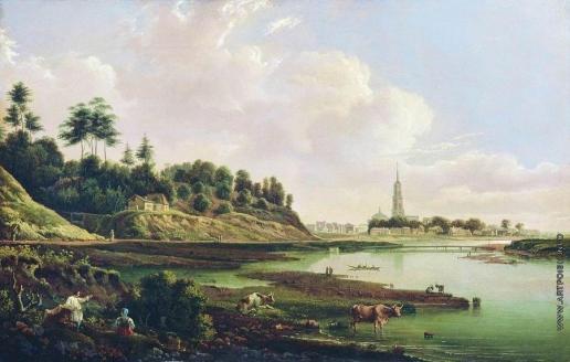Рабус К. И. Вид Звенигорода