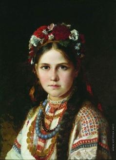 Рачков Н. Е. Девушка-украинка