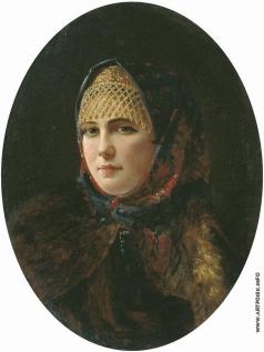 Рачков Н. Е. Портрет девушки