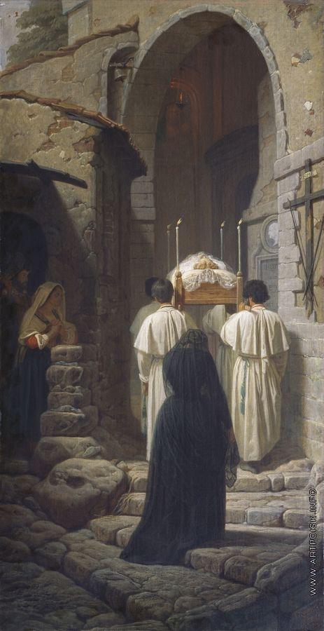 Реймерс И. И. Похороны в Италии