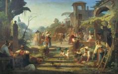 Реймерс И. И. Сбор винограда в окрестностях Рима