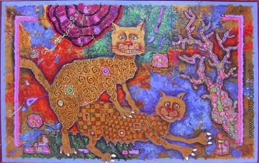 Абезгауз Е. З. Портрет кота Макуса