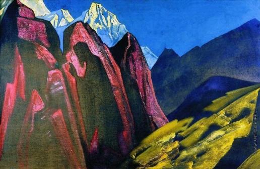 Рерих Н. К. Тень Учителя. Тибет