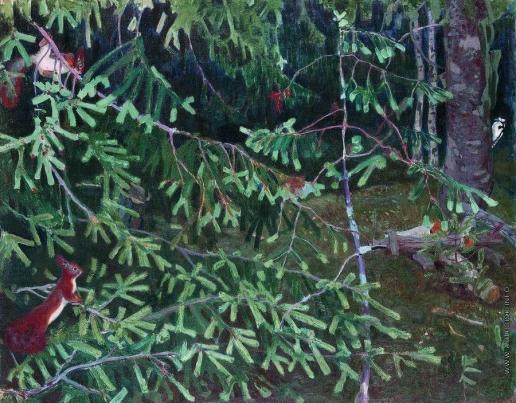 Рылов А. А. Лесные обитатели