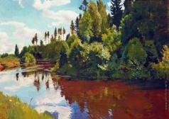 Рылов А. А. Устье реки Орлинки