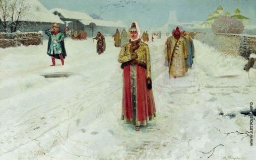 Рябушкин А. П. Воскресный день