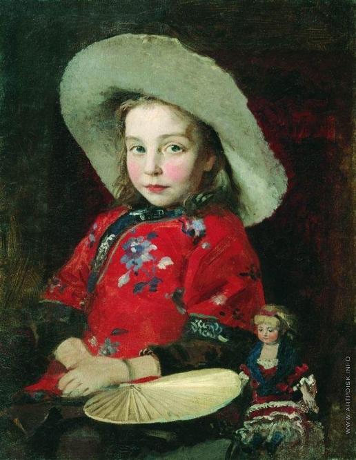 Рябушкин А. П. Девочка с куклой
