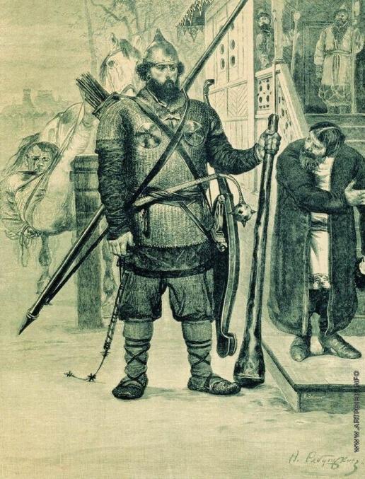 Рябушкин А. П. Илья Муромец