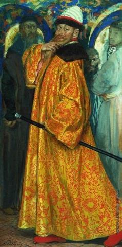 Рябушкин А. П. Пожалован шубой с царского плеча
