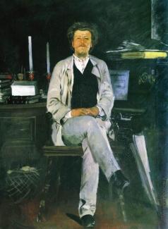 Рябушкин А. П. Портрет И.Ф.Тюменева. 1886-