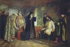 Савинский В. Е. Нижегородские послы у князя Дмитрия Пожарского