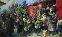 Савицкий Г. К. Стихийная демобилизация царской армии в 1917 году