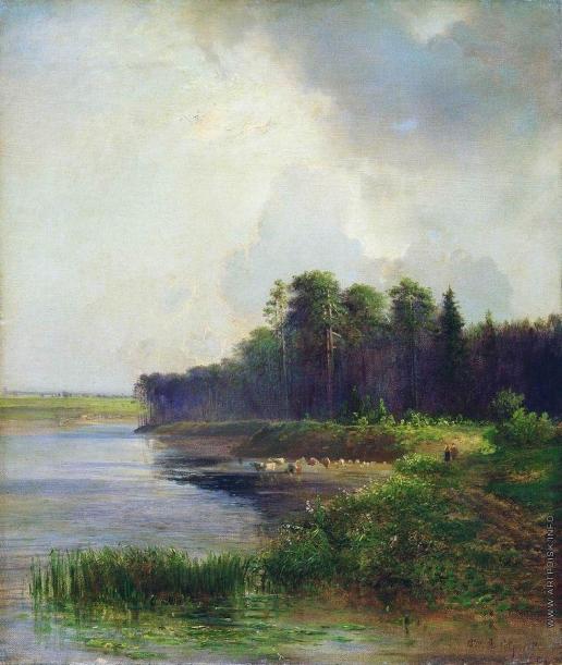 Саврасов А. К. Берег реки