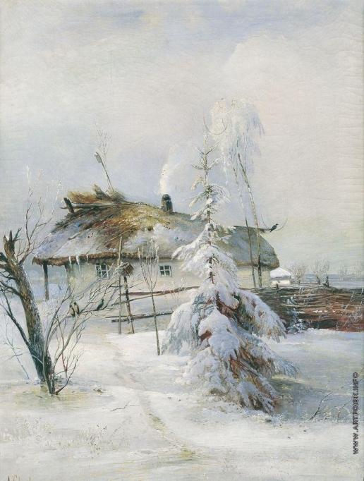 Саврасов А. К. Зима
