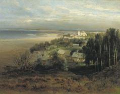 Саврасов А. К. Печерский монастырь под Нижним Новгородом