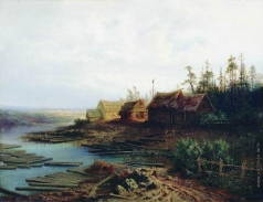 Саврасов А. К. Плоты
