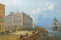 Садовников В. С. Вид набережной и Мраморного дворца