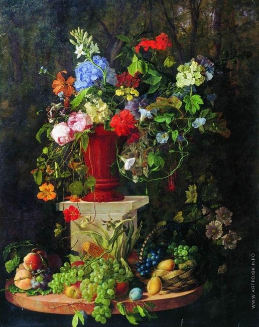 Садовников В. С. Цветы и фрукты