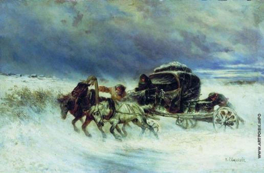 Сверчков Н. Е. Застигнутые бурей