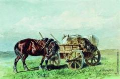 Сверчков Н. Е. Лошадь в поле